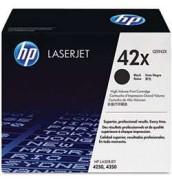 УЦЕНЕННЫЙ черный картридж Q5942X HP 42X для HP LJ