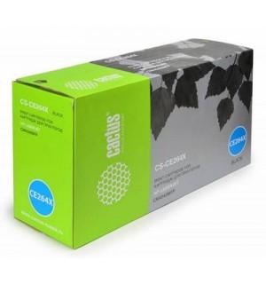 CE264X совместимый Картридж Cactus CS-CE264X Черный для HP Color LJ для CP4525/ CM4540 (17 000стр)