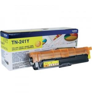 TN-241Y Желтый тонер-картридж Brother для HL3140CW/ 3170СDW/ DCP9020CDW/ MFC9330CDW (1400стр)