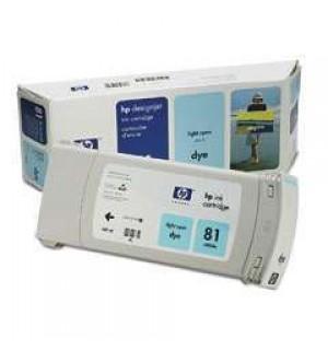 C4934A HP 81 Картридж Light-Cyan для плоттеров HP DesignJet 5000/ 5000ps/ 5500/ 5500ps. (680 ml)
