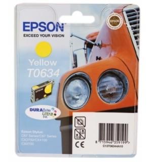 T06344A совместимый картридж TV для Epson Stylus C67/ C87, CX3700/ CX4100/ CX4700 Yellow