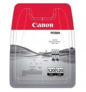 PGI-520Bk(2) [2932B012] Двойная упаковка для Canon PIXMA IP3600/4600/4700, MP540/550/560/620/630/640/980,990; MX860/ MX870 Photo-Black (2*324 стр.)