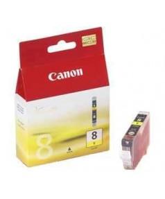 CLI-8Y [0623B024] Картридж (чернильница) к Canon Pixma MP500/ MP510/ MP530/ MP600/ MP610/ MP800/ MP810/ MP830/ MP950/ MP970, MX850, MX700,  iP3300/ iP4200/ iP4300/ iP4500/ iP5200/ iP5300/ iP6600D/ iP6700D/ Pro9000 Yellow ( 450стр.)