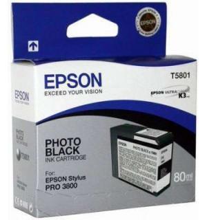 УЦЕНЕННЫЙ T580100 Картридж для Epson Stylus Pro 3800/3880 Black (80мл.)