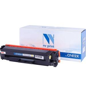 CF412X Картридж NV Print желтый, совместимый (5000стр.)