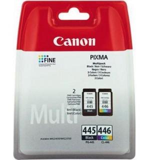 PG-445/CL-446 [8283B004] Набор картриджей черный+цветной для CANON PIXMA MG2440/ 2540/ 2940/ IP2840/ MX494