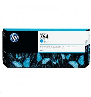 C1Q13A HP 764 Картридж с голубыми чернилами для принтеров HP Designjet T3500, 300 мл