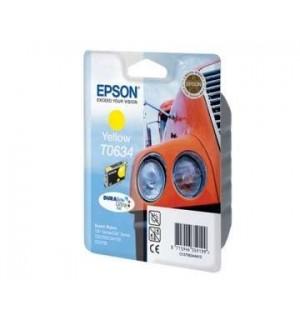 T0634 / T06344A OEM Картридж для Epson Stylus C67/ C87, CX3700/ CX4100/ CX4700 Y