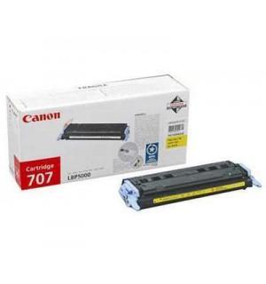 Canon Cartridge 707Y [9421A004] Картридж для Canon Laser Shot LBP5000, LBP5100 (2000 стр.) Yellow