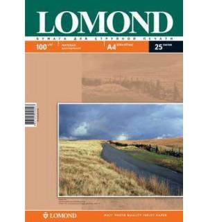 100 Бумага LOMOND A4 INC JET 100 г/ м2 25 л. матовая двухсторонняя [0102038]