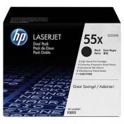 CE255XD HP 55X Двойная упаковка картридж...
