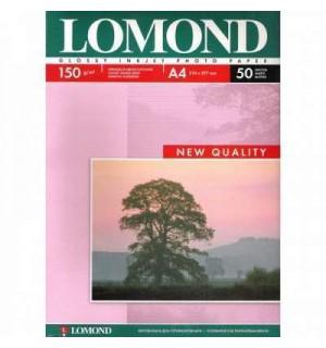 150 Бумага LOMOND A4 GLOSSY 50 л. 150 г/ м2 глянцевая односторонняя [0102018]