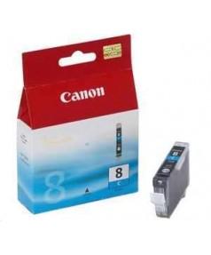 CLI-8C [0621B024] Картридж (чернильница) к Canon Pixma MP500/ MP510/ MP530/ MP600/ MP610/ MP800/ MP810/ MP830/ MP950/ MP970, MX850, MX700, iP3300/ iP4200/ iP4300/ iP4500/ iP5200/ iP5300/ iP6600D/ iP6700D/ Pro9000 Cyan ( 450 стр.)