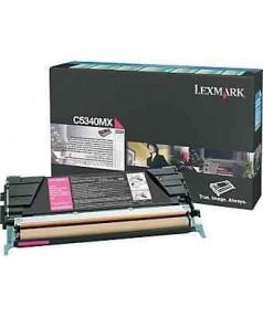 C5340MX Lexmark тонер картридж красный повышенного объема для C534 (7000 стр.)