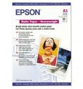 S041261 Бумага Epson Matte Paper-Heavyweight, A3, 167 г/ м2 (50 л.)