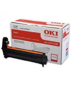 44315106 Фотобарабан пурпурный  для принтеров ОКI С610 (20000 стр)