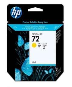 C9400A HP 72 Картридж желтый для плоттеров HP DesignJet T610/ 620/ 770/ 790/ 795/ 1100/ 1120/ 1200/ 2300 (69 ml)