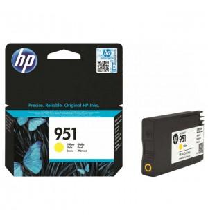 CN052AE  HP №951Y Желтый картридж Officejet Pro 251dw/ 276dw/ 8100/ 8600 (700 страниц)