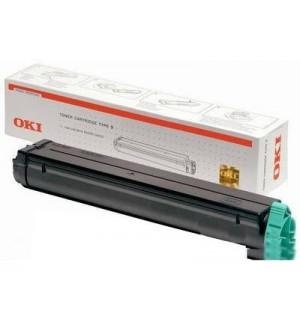 01103402/01103409 Тонер-туба для Oki B4100/ B4200L/ B4250/ B4300/ B4350, MB-218 TYPE 9 (2500 стр.)