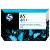 C4846A HP 80 Картридж голубой для плотте...
