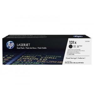CF210XD №131X 2-pack Двойная упаковка Kартриджей HP 131X Black для LaserJet Pro 200 M251/MFP M276 (2*2400стр.)