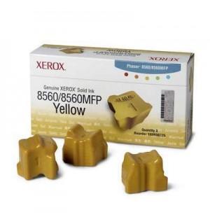 108R00766 Чернила для цветного Xerox Phaser 8560 Yellow (3 по 1000 стр.)