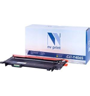 CLT-Y406S совместимый Картридж NV Print для Samsung CLP-360/365/CLX-3300/3305 Yellow