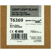 T6369 / T636900 Epson картридж для Stylus Pro 7890/7900/9890/9900 Light-Light-Black (700 ml)