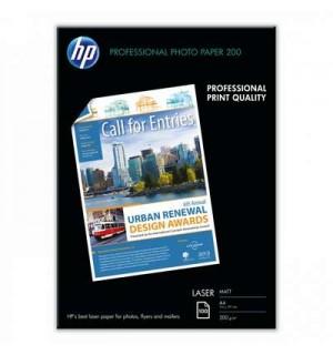 Q6550A  Фотобумага HP Матовая для лазерной печати, 200г/м2, A4 (21X29,7)/100л.