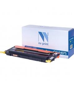 CLT-Y407S совместимый Картридж NV Print для Samsung CLP320 / 320n / 325; CLX3185 / 3185n / 3185fn