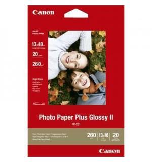 PP-201 Бумага Canon Photo Paper Plus Glossy II, супер глянцевая, A4, 260г/ м2 (20л.) 2311B019