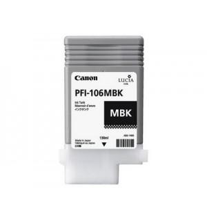 PFI-106MBK (Matte Black) [6620B001] Картридж с чернилами для плоттера Canon iPF6400/6450 (130 мл)
