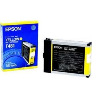 T481 / T481011 Картридж для Epson Stylus Pro 7500 Yellow