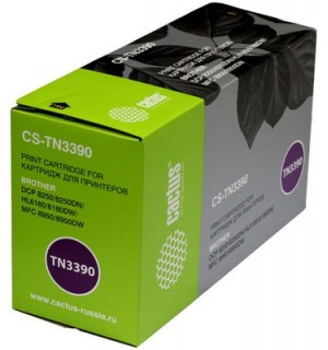 TN-3390 Cовместимый Картридж Cactus для Brother HL6180DW/ DCP8250DN/ MFC8950DW (12 000 стр.)