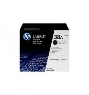 Q1338D HP 38A Двойная упаковка картриджей HP LJ 4200 (2*12000 стр.) ориг.