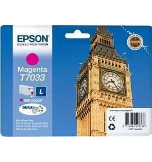 T7033 / T70334 Картридж для Epson WorkForce Pro WP 4015DN/4025DW/4515DN красный (0,8K)