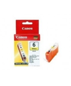 BCI-6Y [4708A002] Чернильница к Canon BJC-8200; S560/ S800/ S820D/ S830D/ S900/ S9000; i560/ i865/ i905D/ i950/ i965/ i990/ i9100/ i9950; iP3000/ iP4000/ iP5000/ iP6000/ iP8500 Yellow (280 стр.)