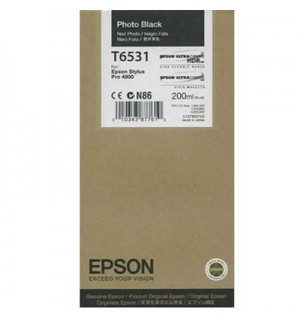 T6531 / T653100 Картридж для Epson Stylus Pro 4900 photo black ( 200ml )