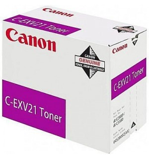 C-EXV21M [0454B002] Тонер-туба к копирам Canon iR-2380i/ iR C2880/ iR C2880i/ iR C3380 / iR-3080/ iR-C3080i/ iR C3380i/ iR-3580/ iR-3580i Magenta