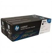 CC530AD HP 304A Двойная упаковка картриджей для НР Color LaserJet CP2025/CM2320 BLACK (2*3500с.)