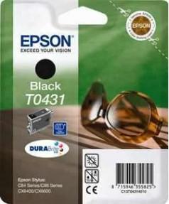 T0431 / T043140 Картридж для Epson Stylus C84/ C86, C64/ C66, CX3600/ 3650/ 6400/ 6600 Black (450стр.)