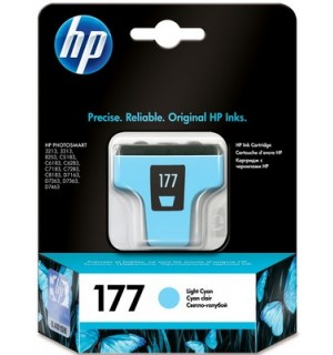УЦЕНЕННЫЙ светло-голубой картридж HP C8774HE №177 LC для HP Photosmart