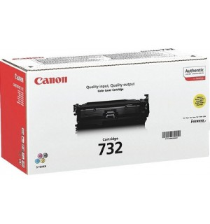 Canon Cartridge 732  Yellow [6260B002] Картридж желтый для Canon LBP 7780Cx (6400 стр)