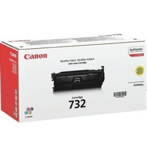 Canon Cartridge 732  Yellow [6260B002] Картридж желтый для Canon LBP 7780Cx (6400 стр)