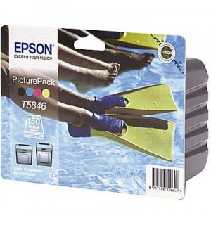 T584640 Набор: картридж+ бумага для EPSON PictureMate PM240/PM260/PM280/PM290 (150 стр. 10х15)