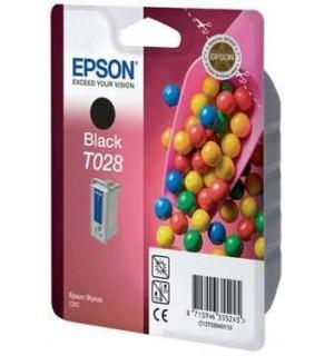 T028401 Картридж для Epson Stylus Color C60 черный (420стр.)