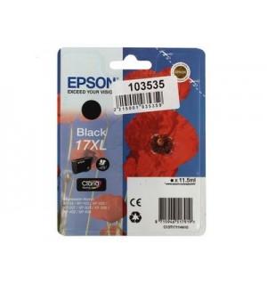 T1711 / T17114A10 Картридж №17XL BK для EPSON Expression Home XP-33/ 103/ 203/ 207/ 303/ 306/ 313/ 323/ 406/ 413/ 423 черный, повышенной емкости (470 стр)