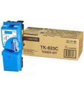 TK-820C [1T02HPCEU0] Тонер-картридж для Kyocera Mita KM-C8100DN, Cyan 7 000cтр.