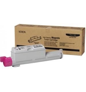 106R01219 Тонер-картридж повышенной емкости пурпурный для Phaser 6360 (12000 стр.)