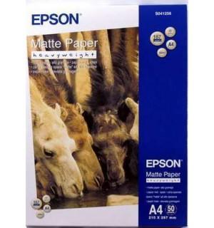 S041256 Бумага Epson Mate Paper- Heavyweight, A4, 167 г/ м2, (50л.)